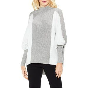 NWT Vince Camuto Dolman Sleeve Colorblock Sweater